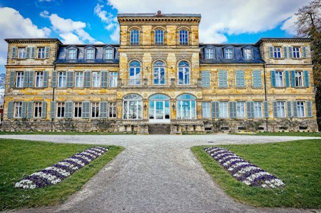 ドイツ、バイロイト近くのファンタイジー宮殿の本館