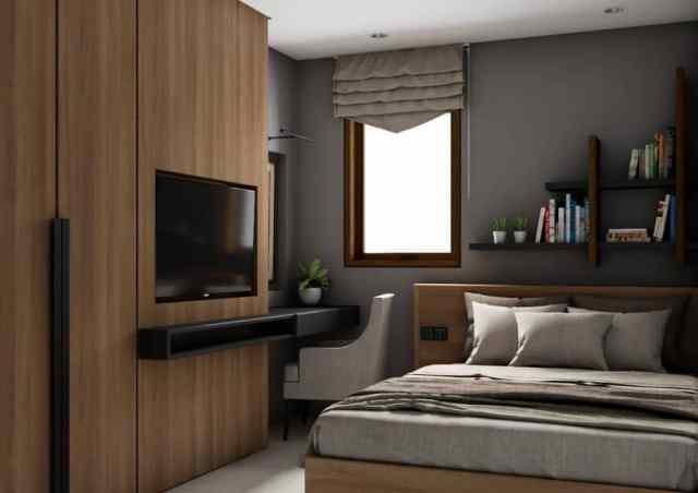 アパートモダンなベッドルームのアイデア1Adriawanrp