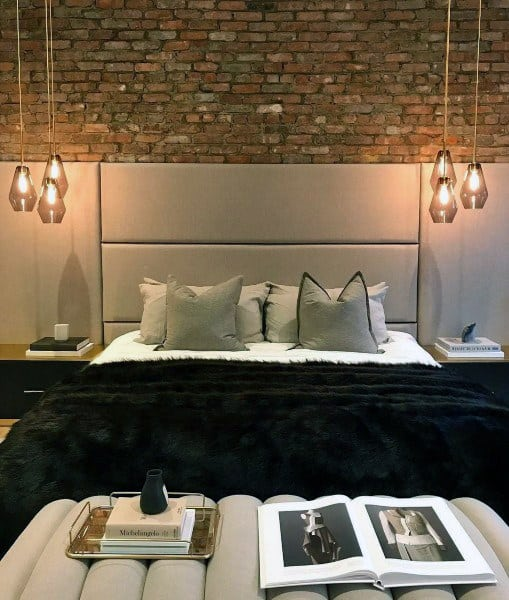 テーブルランプの寝室の照明のアイデア