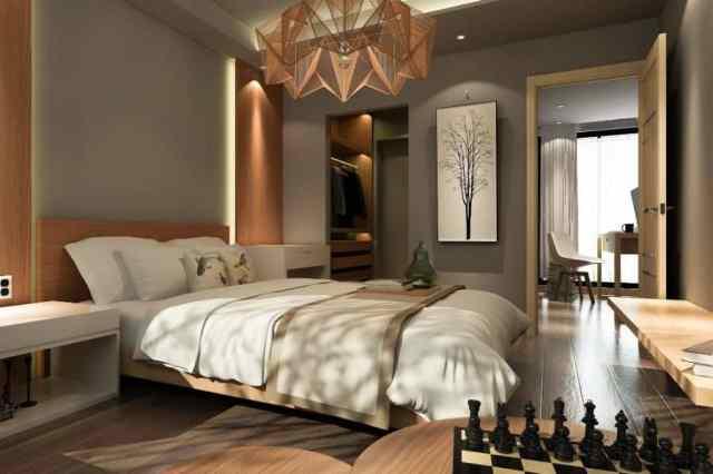 スタイリッシュでモダンなベッドルームのアイデア3