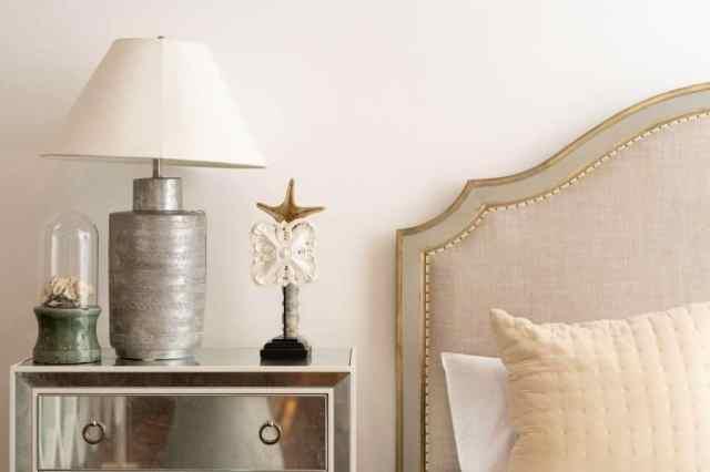 テーブルランプの寝室の照明のアイデア2