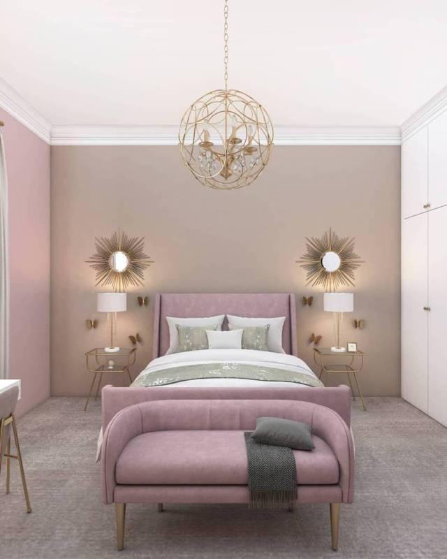 オーブ照明寝室の照明のアイデア