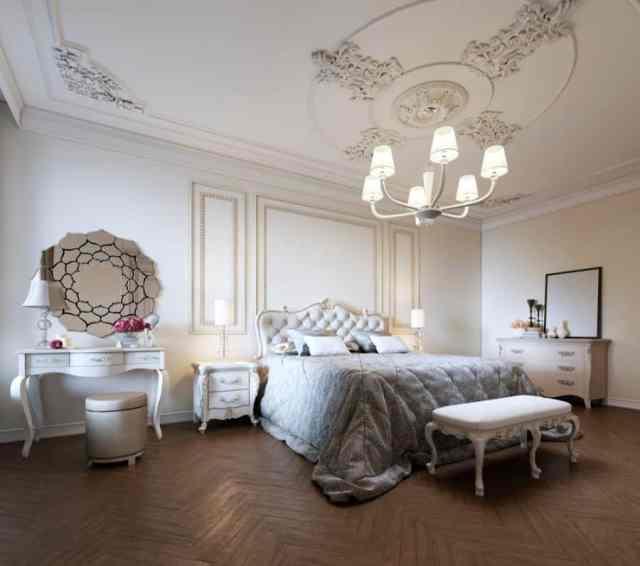 ヴィンテージのロマンチックなベッドルームのアイデア3