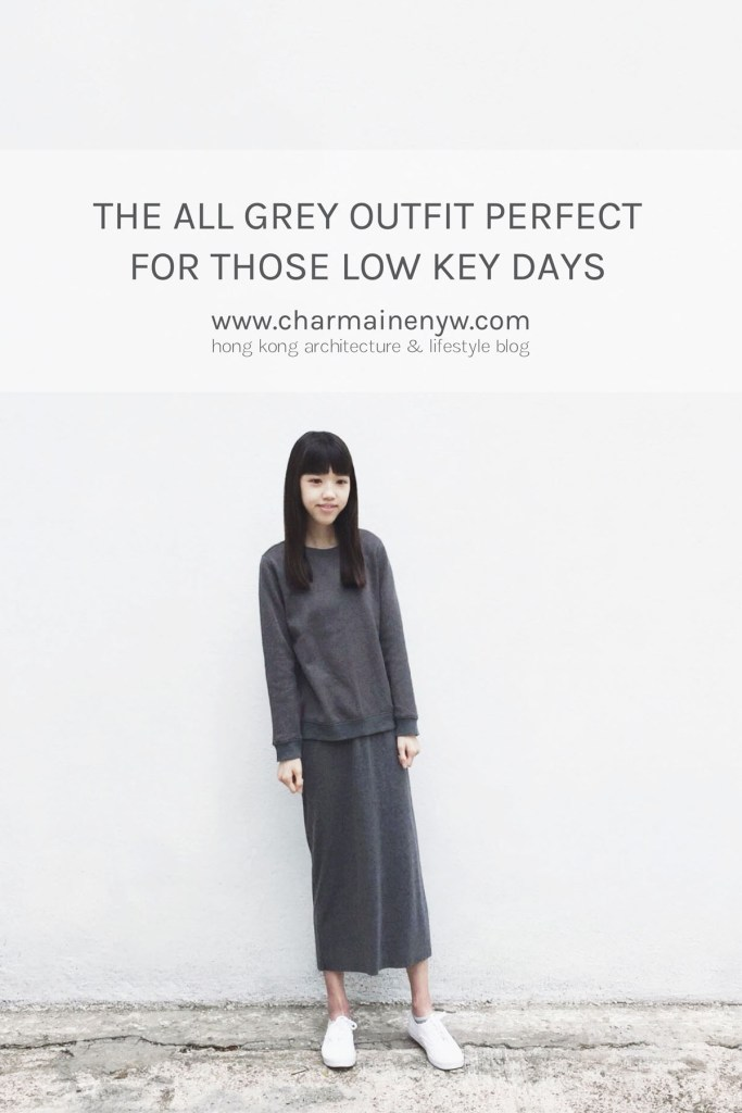 The All Grey Outfit Perfect for Those Low Key Days