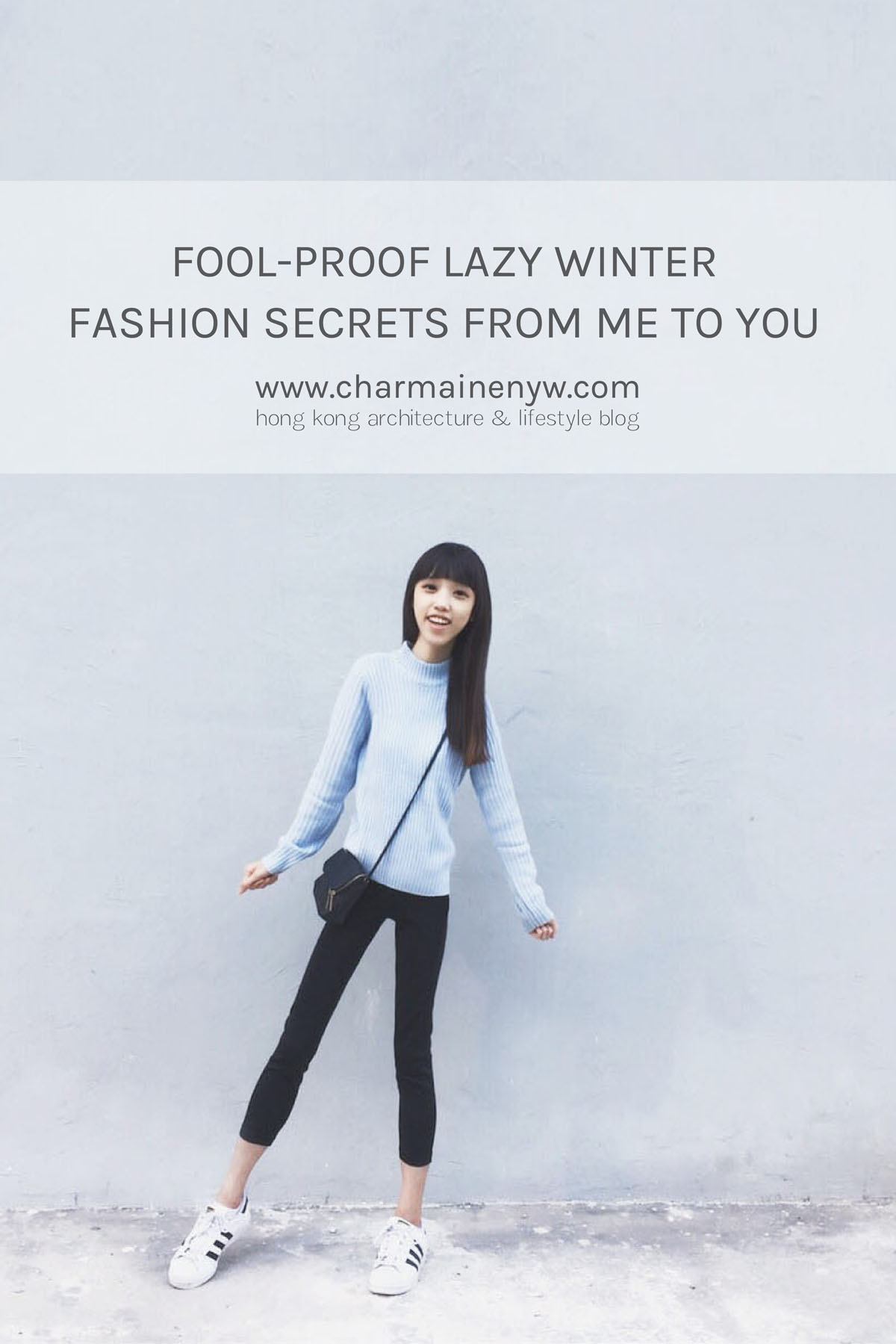 Lazy winter fashion secrets