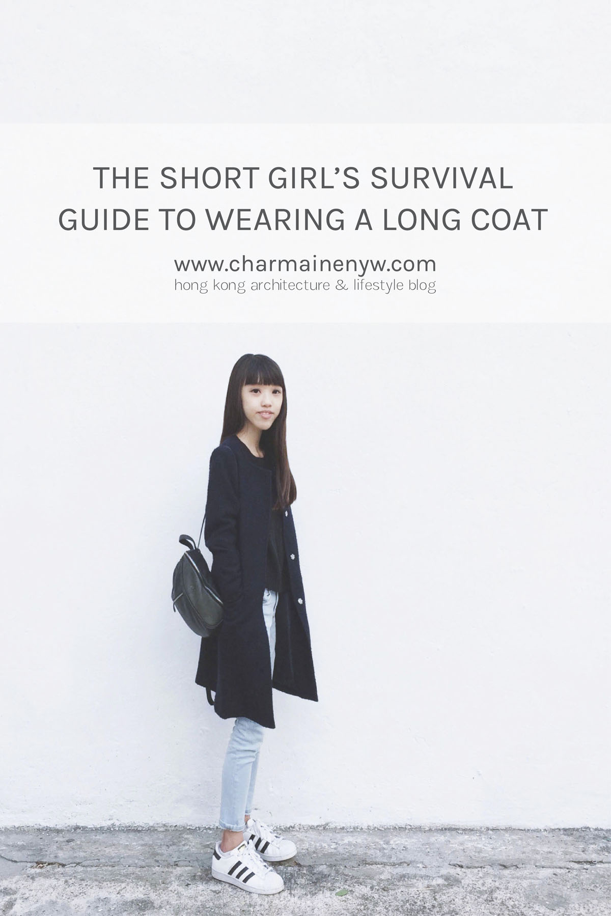 The short girl's survival guide to wearing a long coat