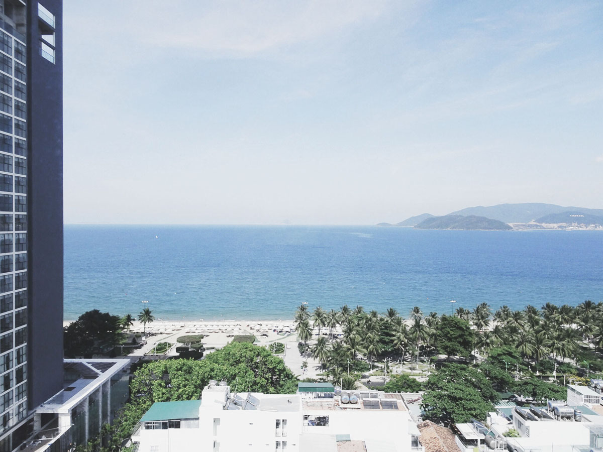 Liberty Central Nha Trang Review - View from corridor