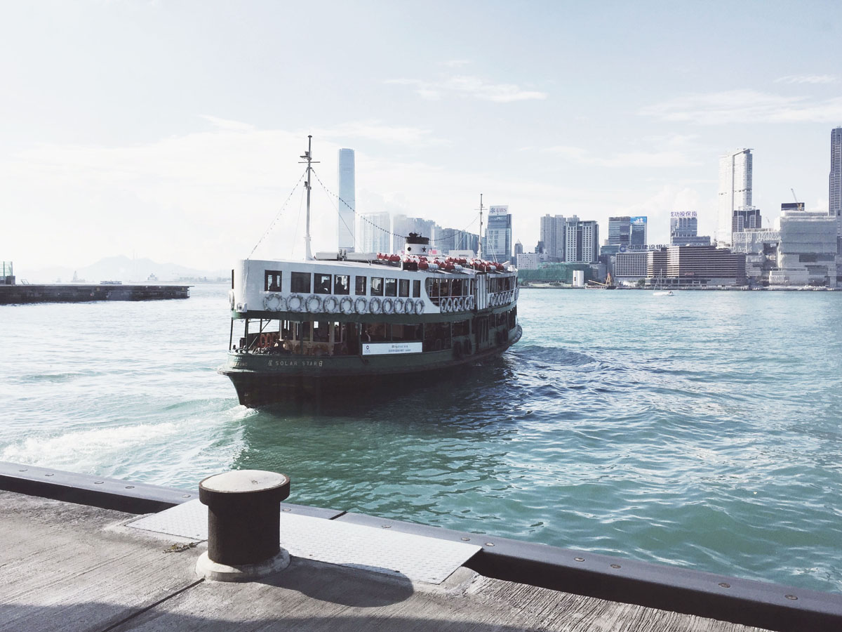See Victoria Harbour on a budget on the Star Ferry
