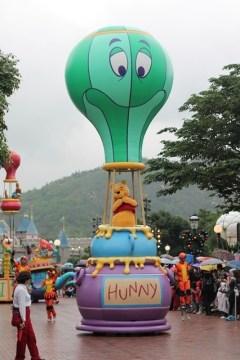 parade: pooh bear