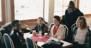 Photo of CHARM 1997 participants