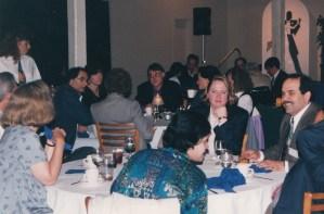 Dinner at CHARM 1997