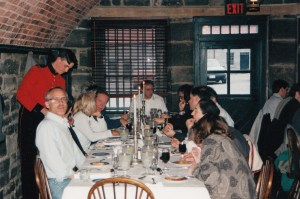 Photo of banquet dinner at Fort Henry, CHARM 1997