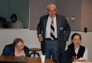 Photo of Don Dixon with the Hollanders at the 1999 CHARM Conference