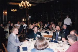 Photo of banquet dinner at CHARM 2001