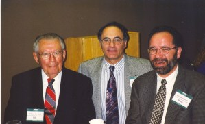 Photo of Bill Davidson, Robert Tamilia and Brian Jones at the 1999 CHARM Conference