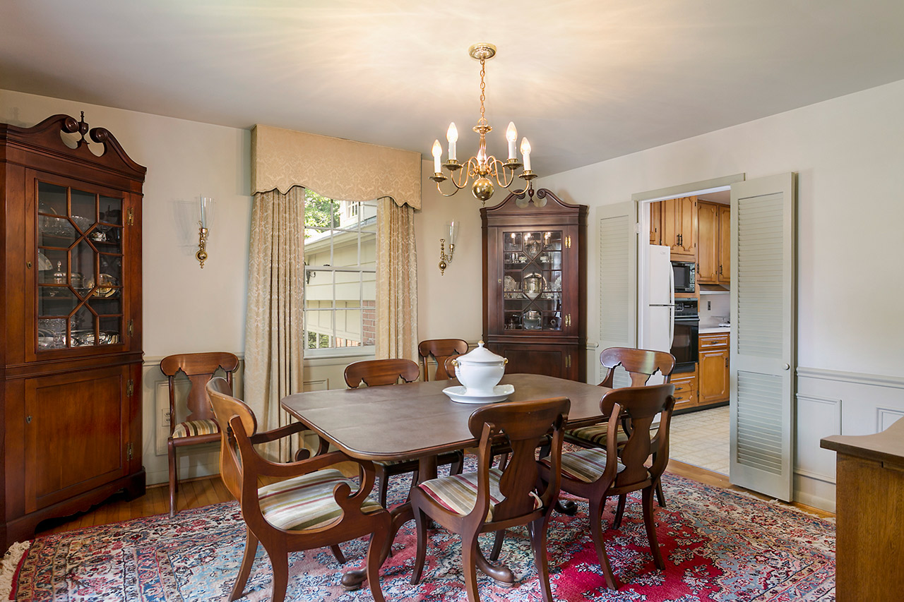 Formal Dining Room in Baltimore MD