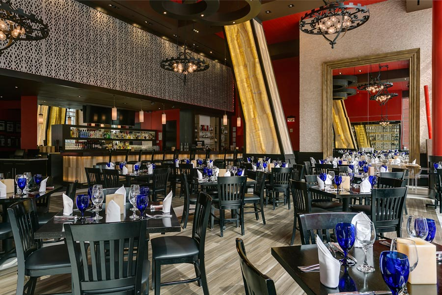 Restaurant Dining Area in Washington DC