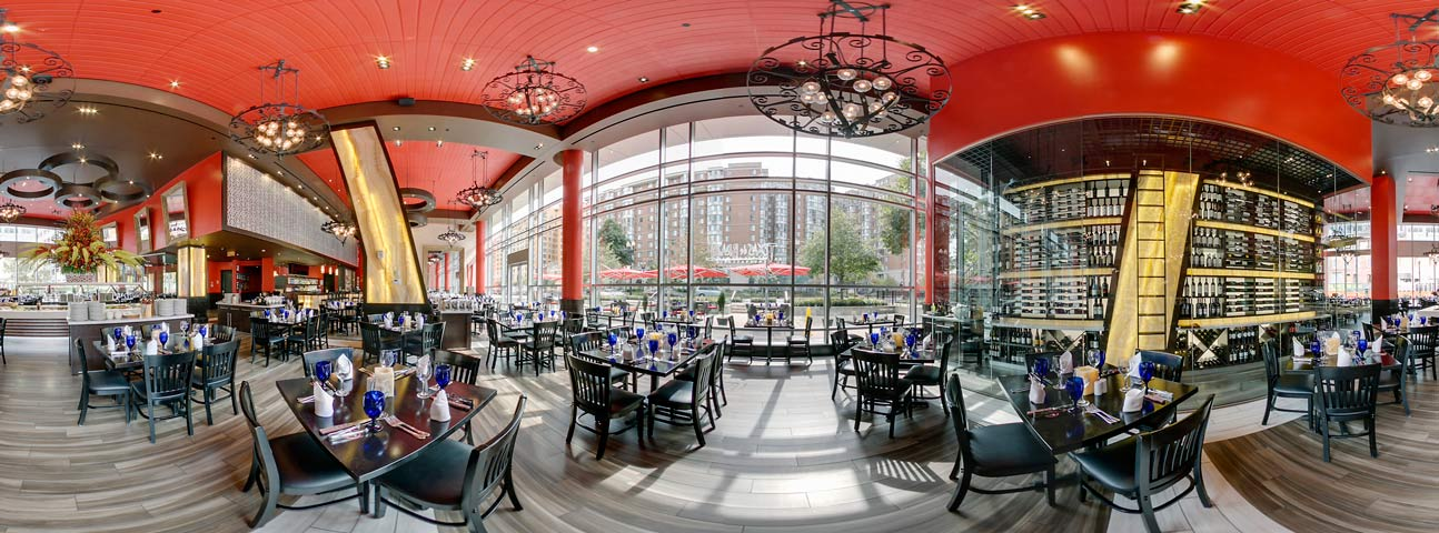 Restaurant Panoramic Photo in Washington DC