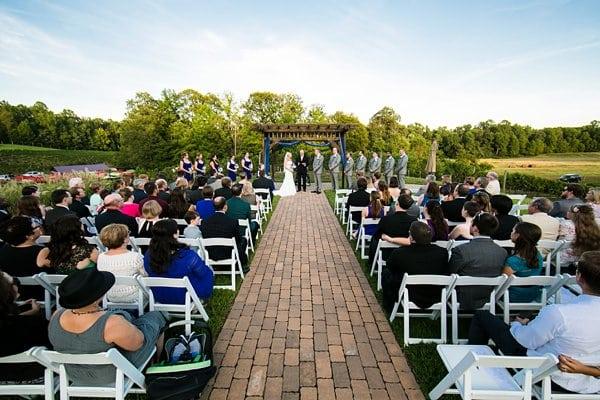 Running Hare Vineyards Wedding By Emily Chastain