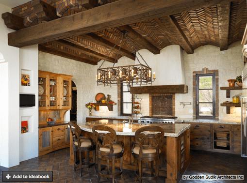 Rustic Spanish Style Kitchen Kitchens