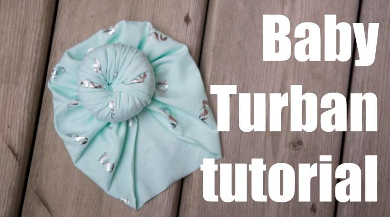 Newborn Baby Turban hat