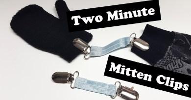 2 Minute mitten clip
