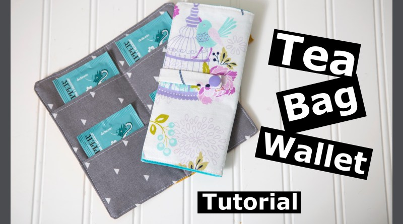 Tea Bag Wallet