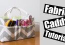 Fabric Caddy sewing tutorial