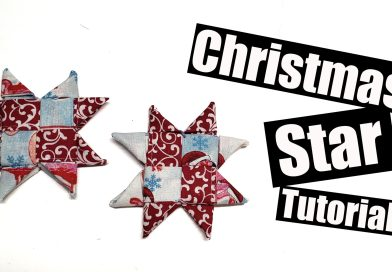 Folded Star ornament