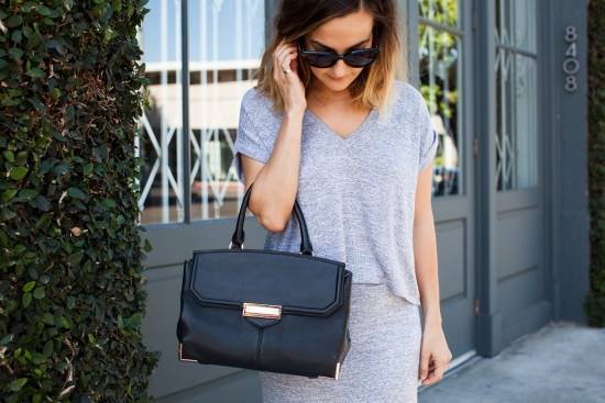 May Gray Monochrome Outfit | Charmed by Camille