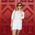 White Shorts | Charmed by Camille