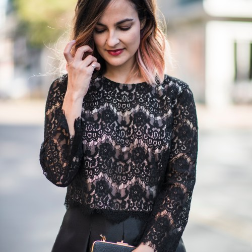 Ladylike New Year's Eve Outfit | Charmed by Camille