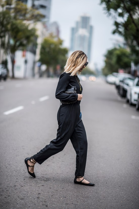 The Black Jumpsuit | Charmed by Camille
