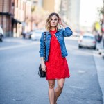 Red Crochet Dress | Charmed by Camille