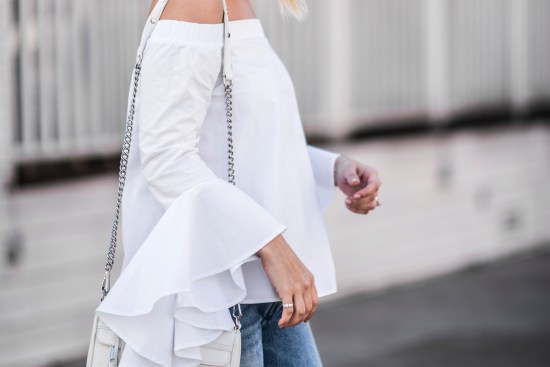 Off the Shoulder Top | Charmed by Camille