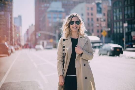 Khaki Trench | Charmed by Camille
