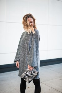 Silver Dress for NYE | Charmed by Camille