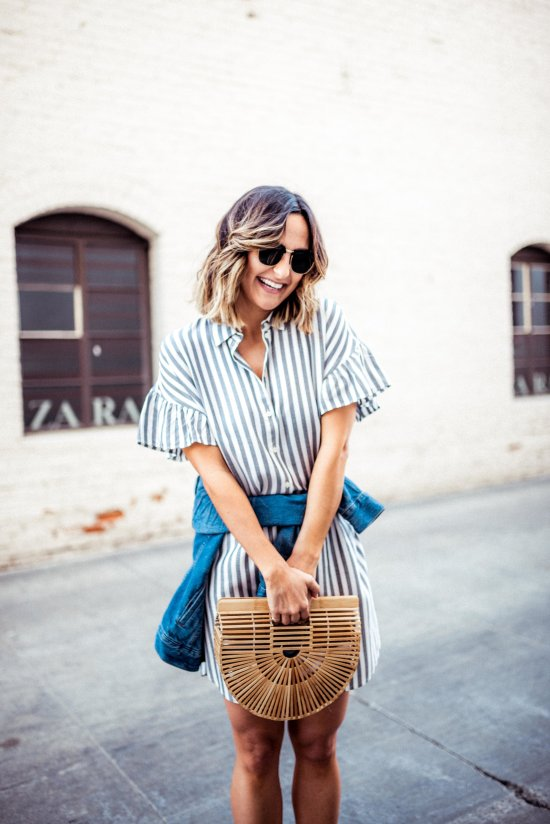 Striped Shirtdresses for Spring and Summer   Charmed by Camille