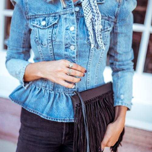 How to Wear the Western Trend for Every Day | Charmed by Camille