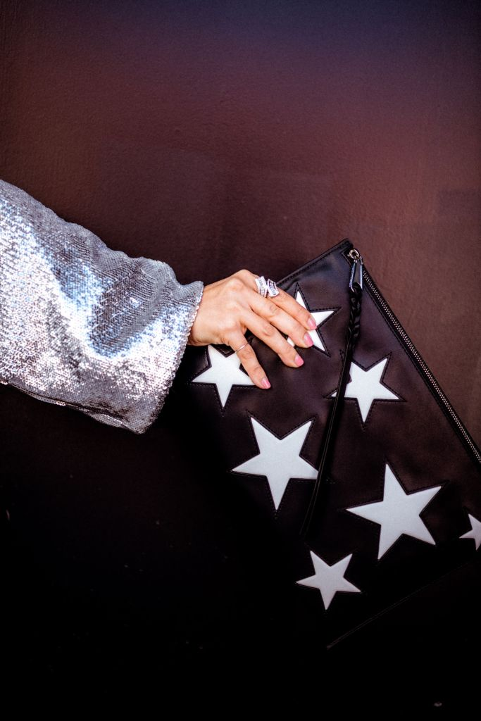 Star Print Clutch | Charmed by Camille