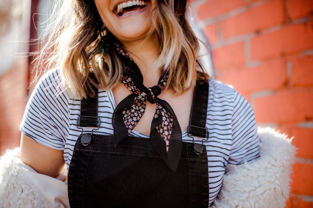Black Overalls Outfit | Charmed By Camille