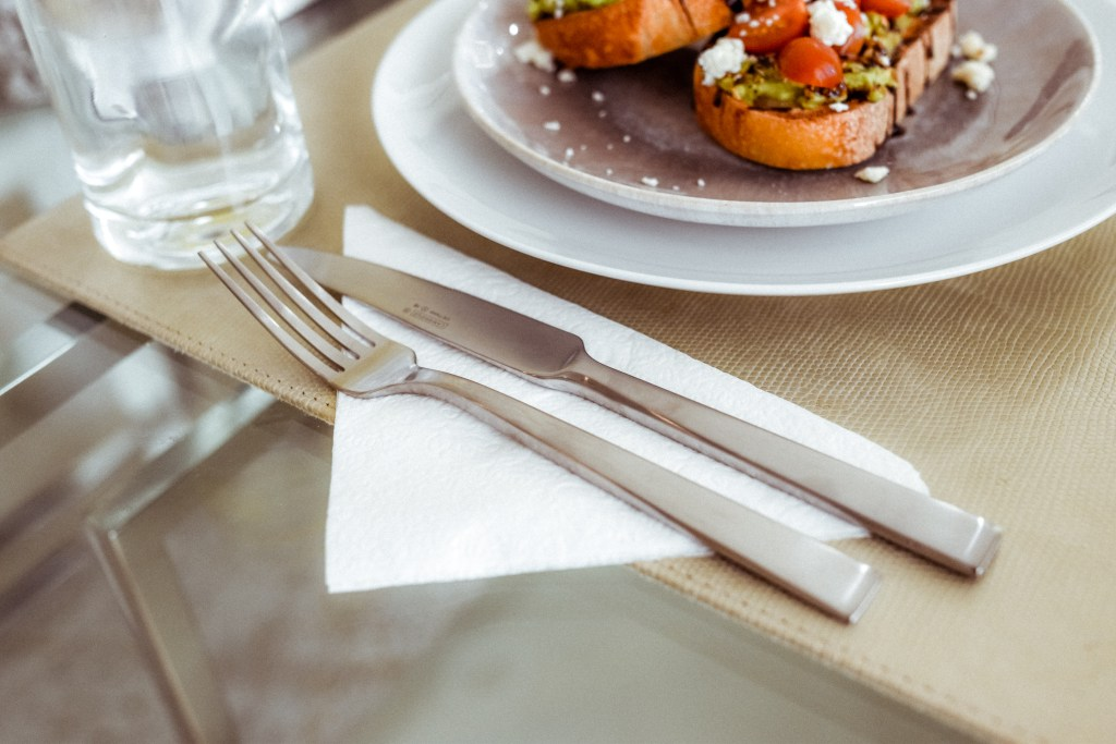 Matte Silver Flatware | Charmed by Camille