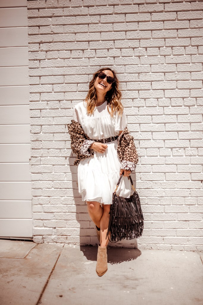 How to Style a Leopard Jacket | Charmed by Camille