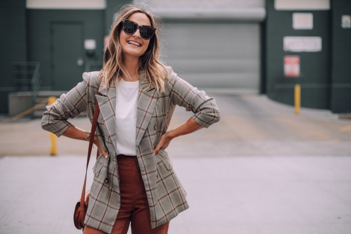 16 Affordable Plaid Blazers Under $100 | Charmed by Camille
