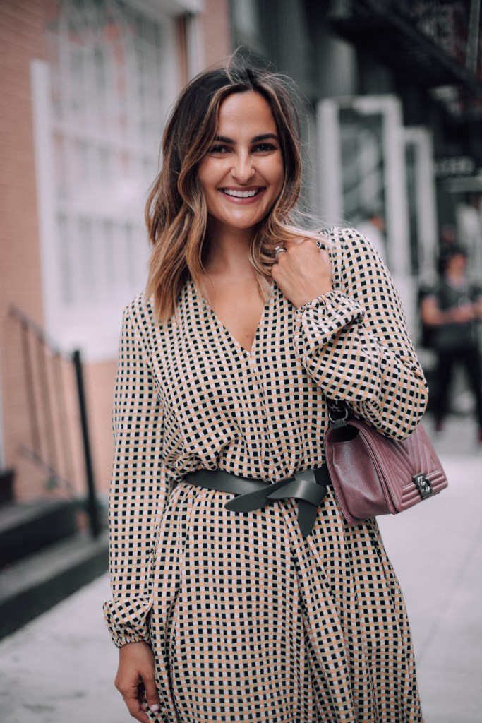 Plaid Dress for Fall | Charmed by Camille