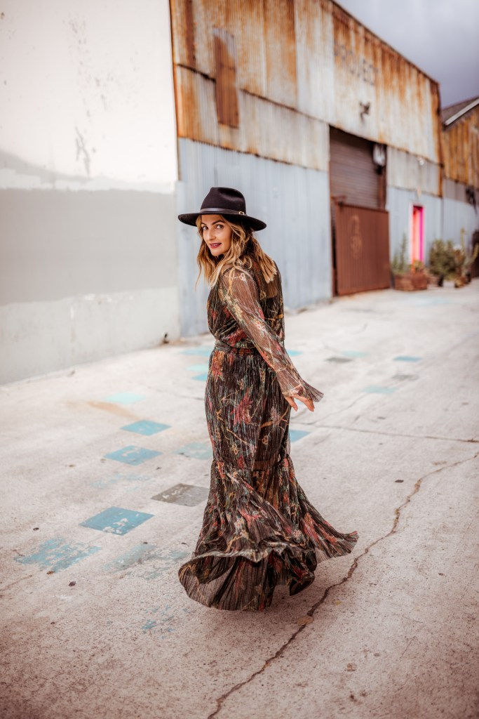 Fall Maxi Dress | Charmed by Camille