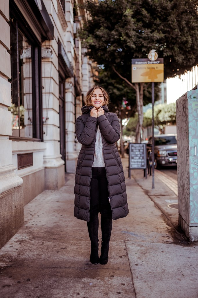 The Best Winter Coat for Travel | Charmed by Camille