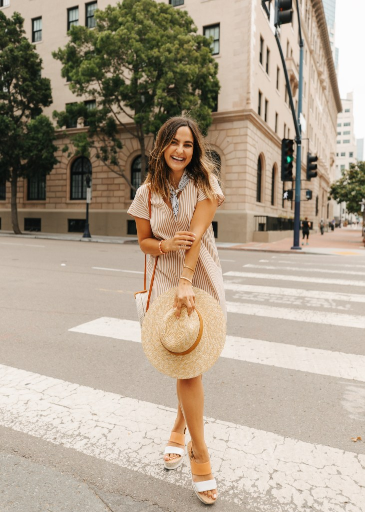 Summer Striped Dresses | Charmed by Camille