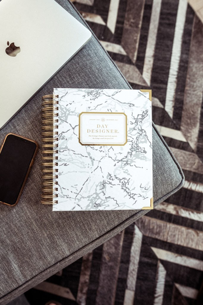 Successful Planner Organization Tips with Day Designer | Charmed by Camille
