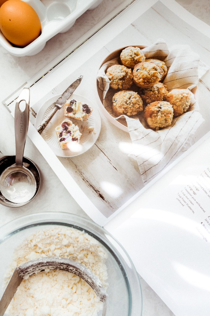 Easy, Fluffy Blueberry Muffins from the Magnolia Table Cookbook | Charmed by Camille